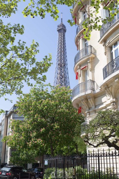 The Eiffel Tower, Paris, France || Paris in two days, a complete guide and itinerary to the city of lights in France.