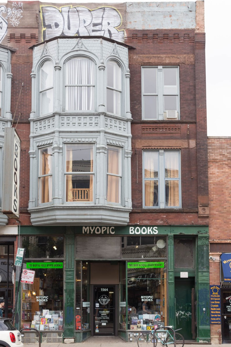 Myopic books, Chicago