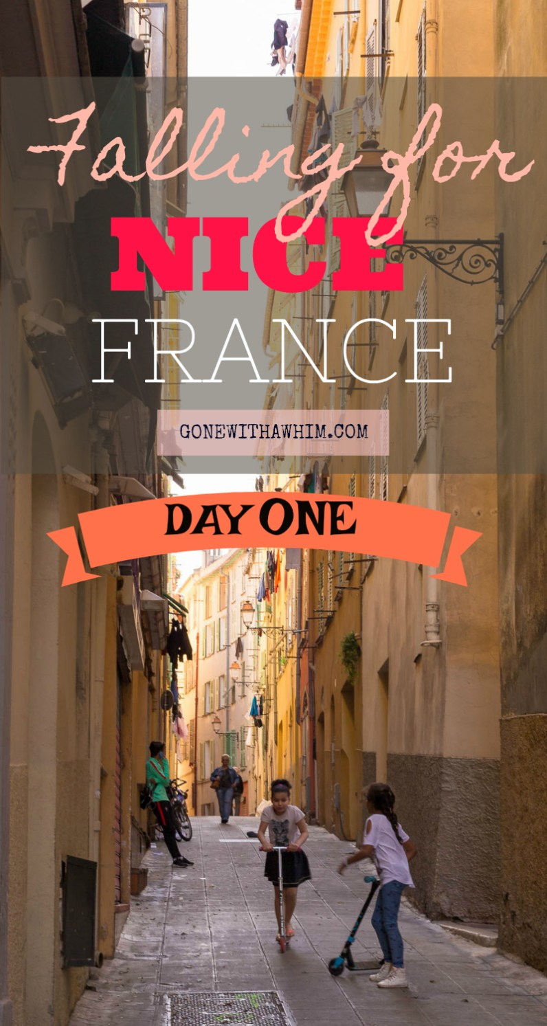 Postcards from traveling to Nice, France and falling in love with south of France || Falling for France: Day One