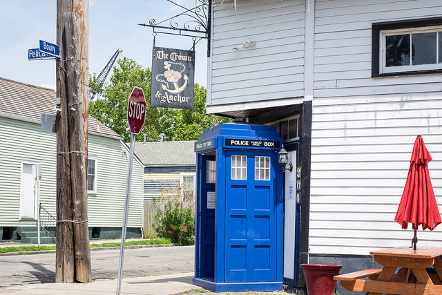 The Crown and Anchor is a good stopping place for a pint or a shot while exploring the Point.