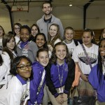 New Orleans Pelicans host an award ceremony for students