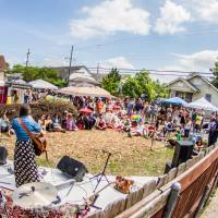 Ninth Ward Festival features free music performances and freshly boiled crawfish. (Photo by Sean Ambrose via 9th Ward Festival on Facebook)