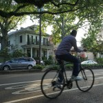 With both dedicated and shared bike lanes, oak tree-lined Esplanade Avenue is one of the best ways to bike into Mid-City with plenty to explore along the way.
