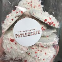 Chocolate peppermint cookies from Maple Street Patisserie. (Photo: Emily Smith)