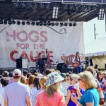 Hogs isn't just about food - music is also part of the 2 day fest. Photo: Paul Broussard