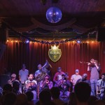 Treme Brass Band at D.B.A on Frenchmen Street. Photo: Paul Broussard