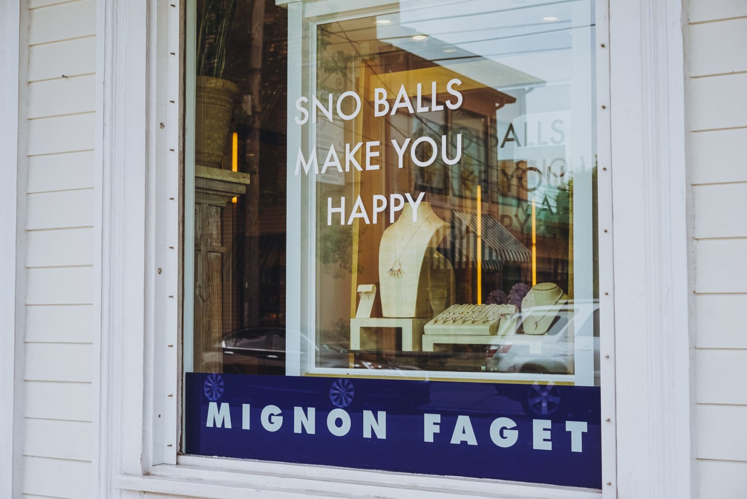 Longtime Magazine Street retailer Mignon Faget (3801 Magazine St.) designs and sells Louisiana inspired jewelry and gifts for the home from their Magazine Street outpost, along with their headquarters and jewelry manufacturing happening a few blocks down nearby Casamento's Oyster Bar (4330 Magazine St.)