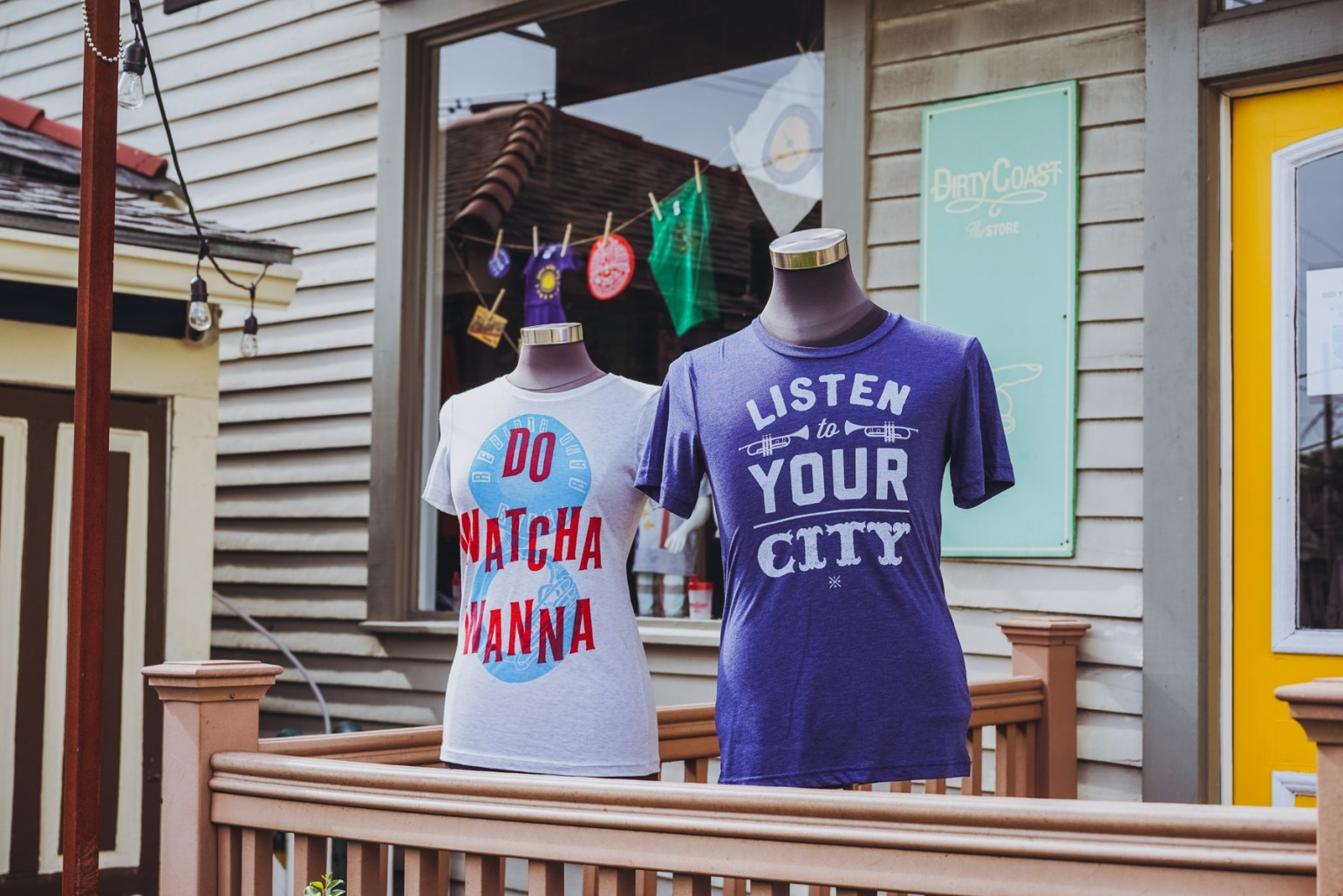 You're probably gonna need a t-shirt or two to bring back home or show off your incredible New Orleans experience. Dirty Coast Press (5631 Magazine St.) sells some pretty unique, often humorous designs that will definitely spark conversations wherever you wear them.