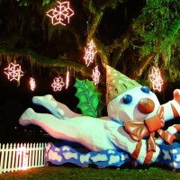 Mr. Bingle, a New Orleans holiday character, at Celebration in the Oaks. (Photo: Paul Broussard)