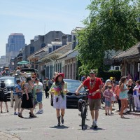 Easter Sunday in the French Quarter. (Photo: Paul Broussard)
