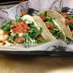 Blackened Red Fish Tacos from Juan's Flying Burrito. (Photo: Juan's Flying Burrito Facebook)