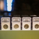 Vintage coins at the Old U.S. Mint. (Photo: Rebecca Todd)