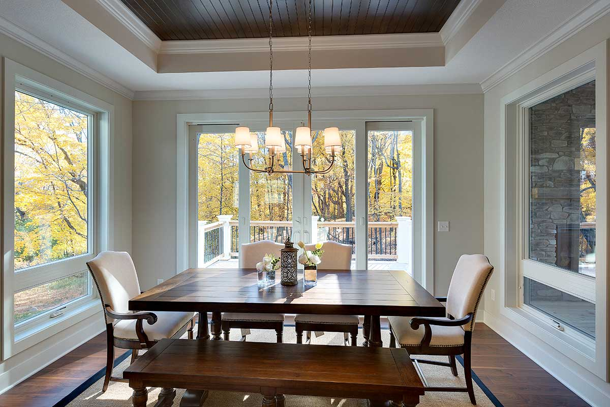 Dining Area Dining Rooms Gonyea Custom Homes