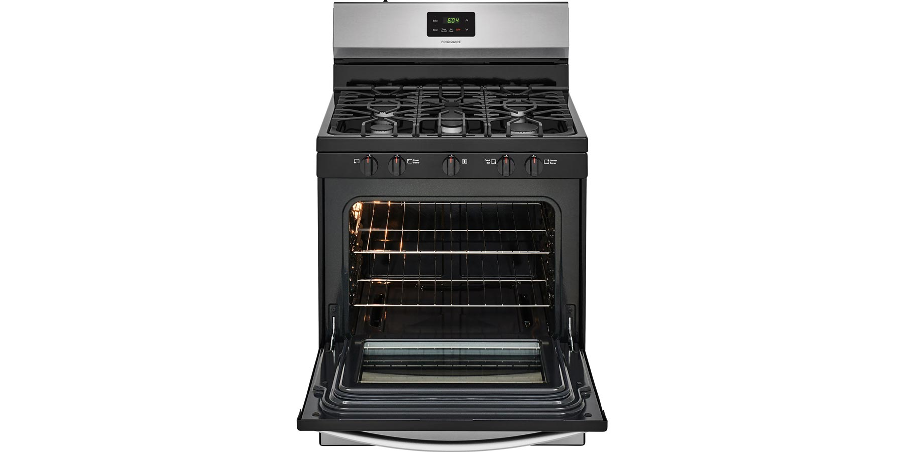 Cooktop Gas Stoves Frigidaire 30 Quot Freestanding Gas Range With 5 Burner