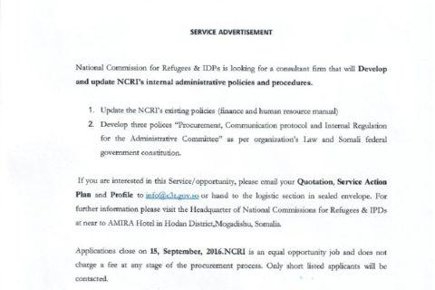 Shaqadoon u2013 Page 7 u2013 Goobjoog News - consultant quotation