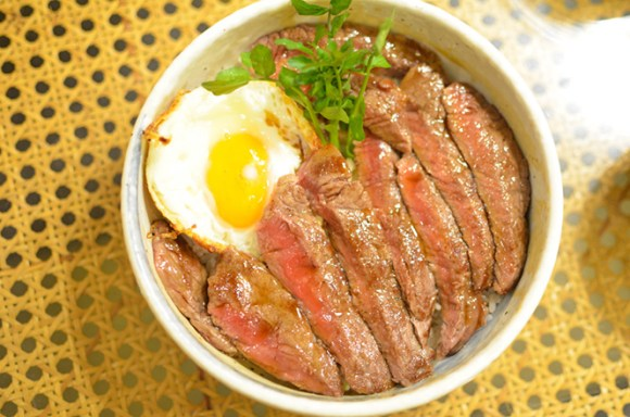 Beef Steak Rice Bowl of Patona