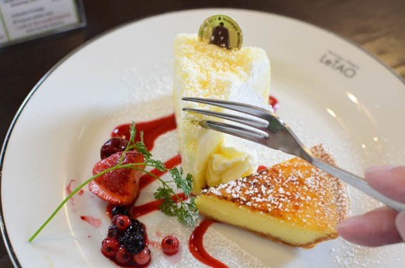 Sweets Combo with Marvelous Meltable in Mouth, LeTAO Head Office in Otaru