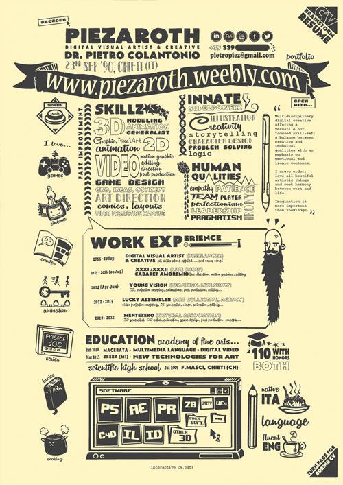 resume design templates creative