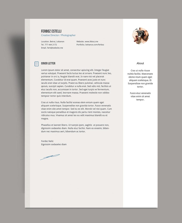 resume letter of credit