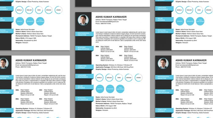 Free Resume Templates Archives - Page 2 of 10 - Good Resume - resume template psd