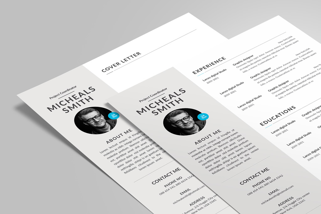 Free Professional Resume (CV) Design With Cover Letter Available in - professional resume design