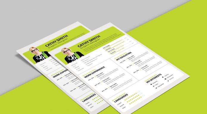 PSD Archives - Good Resume - resume design templates