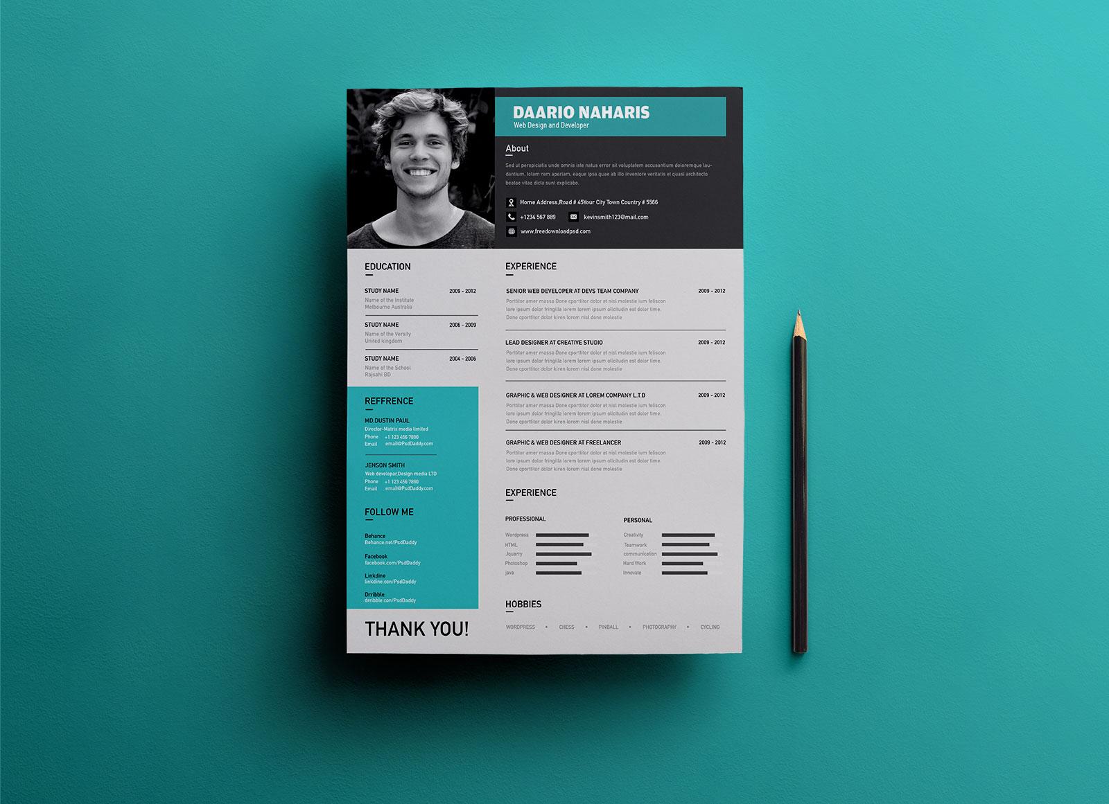 type of resume format