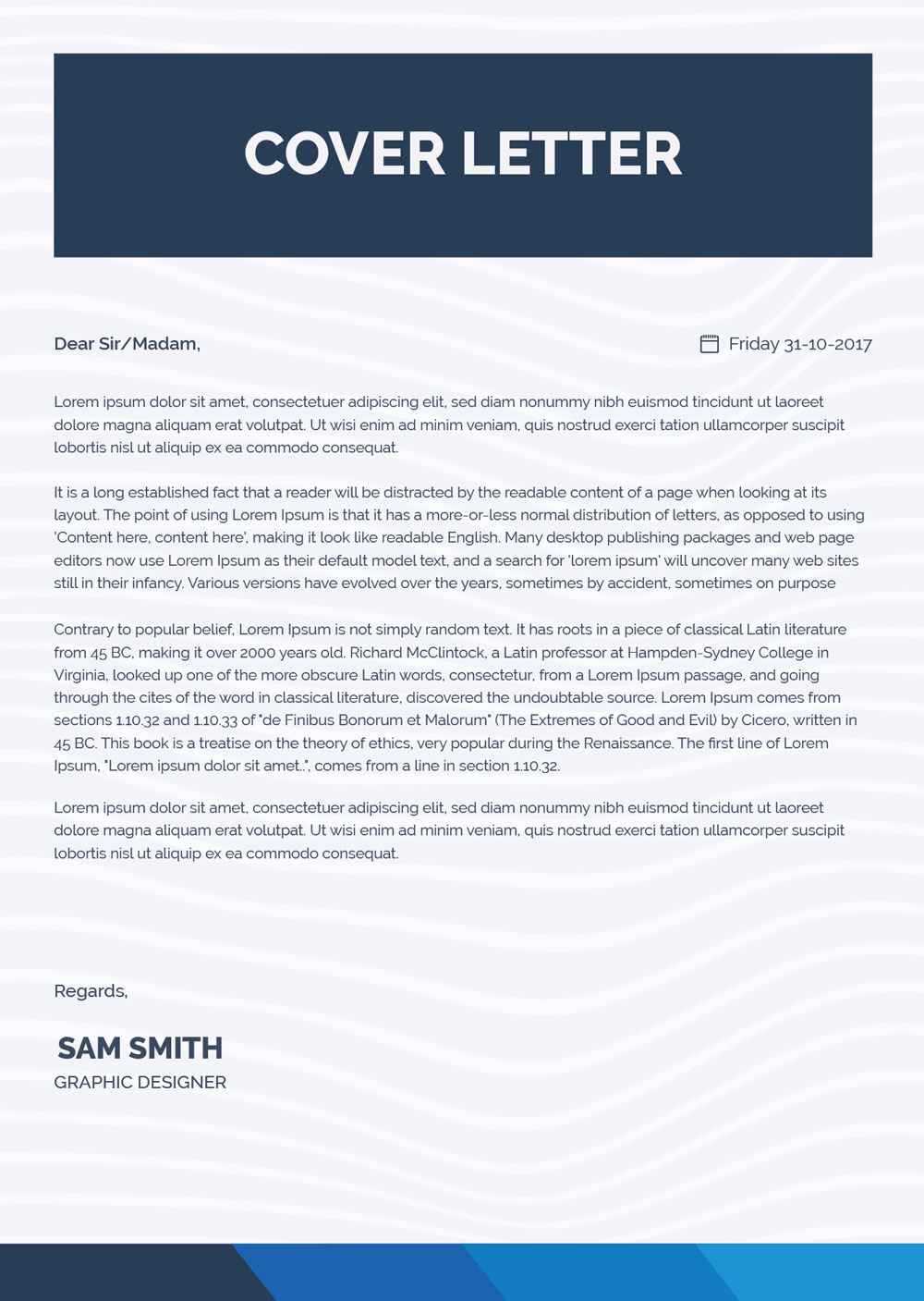 free simple cover letter for resume