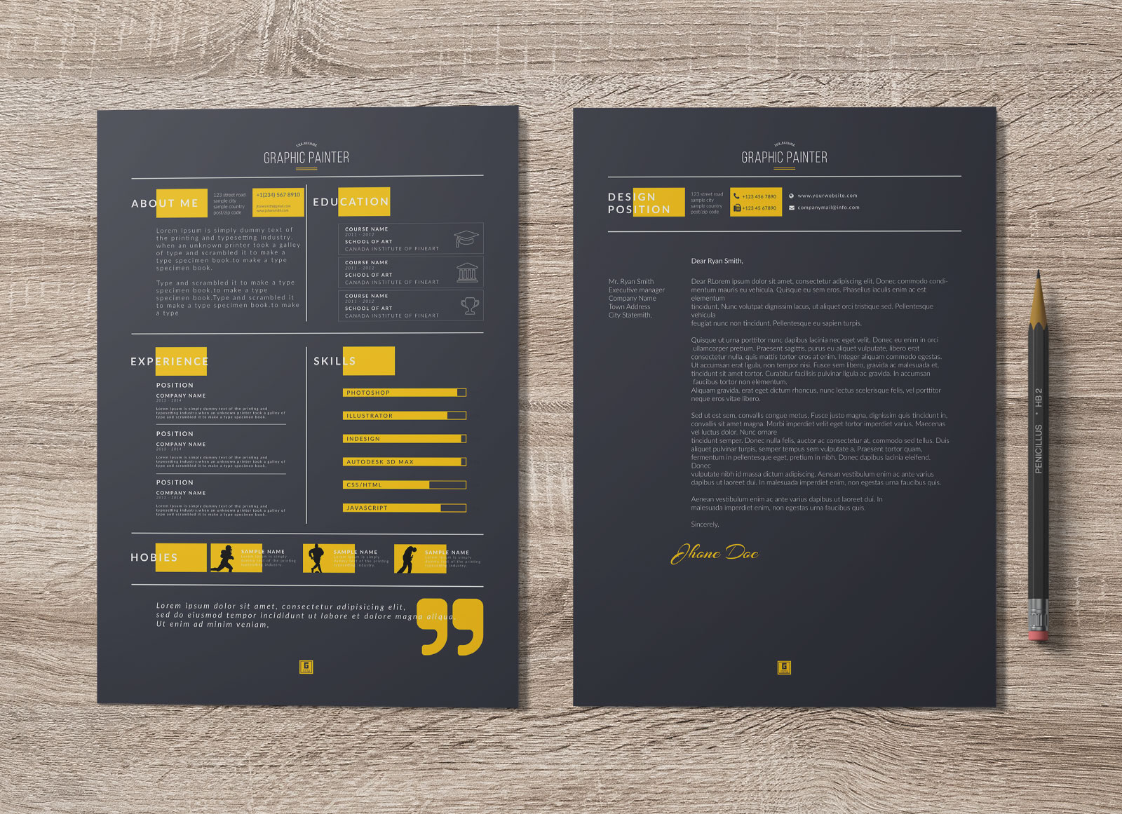 download resume template word