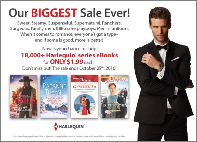 Harlequin Sale