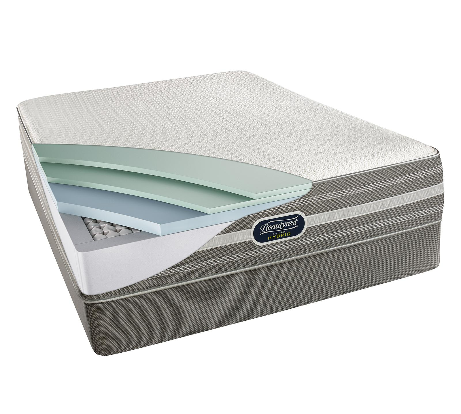 Sealy Vs Beautyrest Simmons Beautyrest Recharge Hybrid Greenmont 13 5