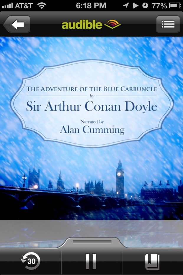 The Adventure Of The Blue Carbuncle by Arthur Conan Doyle | Good Books And Good Wine