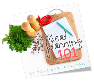 Meal Planning 101 Make a Two-Week Rotation - how to plan weekly meals for two