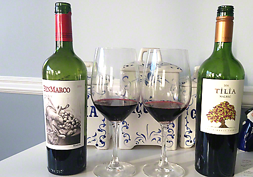 image of Malbec wines