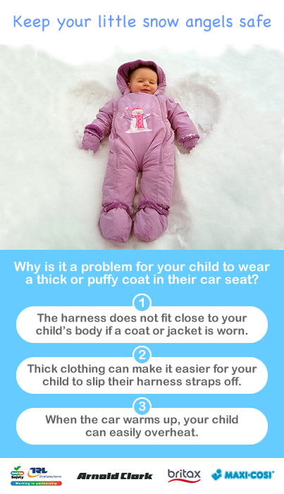 Child Car Seat Jacket Winter Coats And Car Seats – The Winter Facts Every Parent