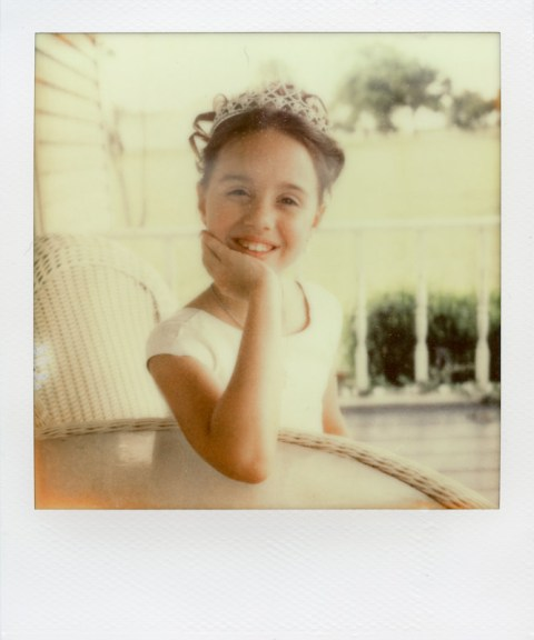"""- """"Hannah Rae"""" aka the Flower Girl - SX-70 - Impossible Project PX-70 COOL"""