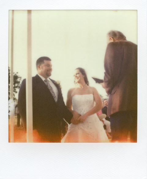 - Texas Wedding - SX-70 - Impossible Project PX-70 COOL -