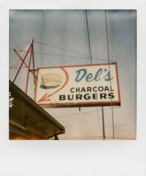 - Del's Burgers - Impossible PX-70 COOL - Shot at 85 but developed at 65 degrees -