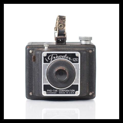 Pho-Tak Time Traveler 120 Box Camera