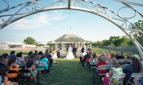 Texas Wedding - Leica M2 - 15mm Voigtlander - Ektar 100