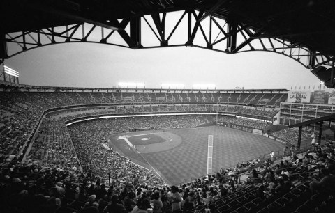 The Ballpark in Arlington - Leica M2 - 15mm Voigtlander - Delta 400