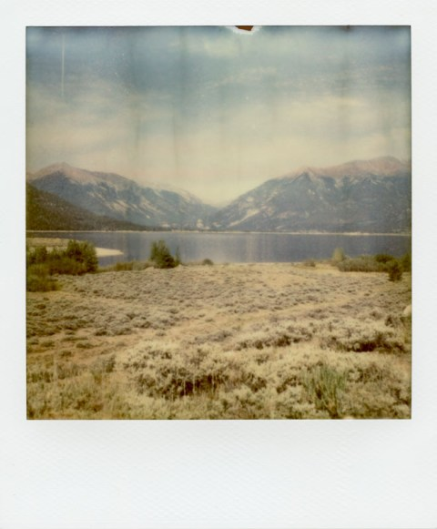 Twin Lakes - Colorado - Impossible Project PX-70 COOL