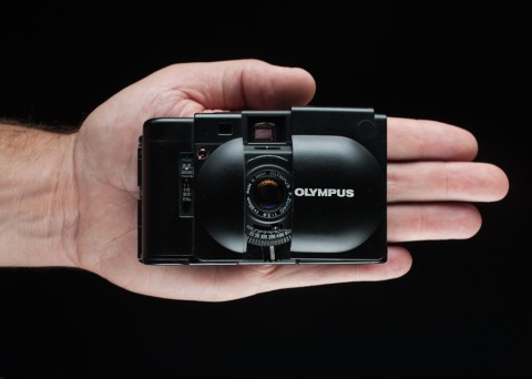 Olympus XA 35mm f/2.8