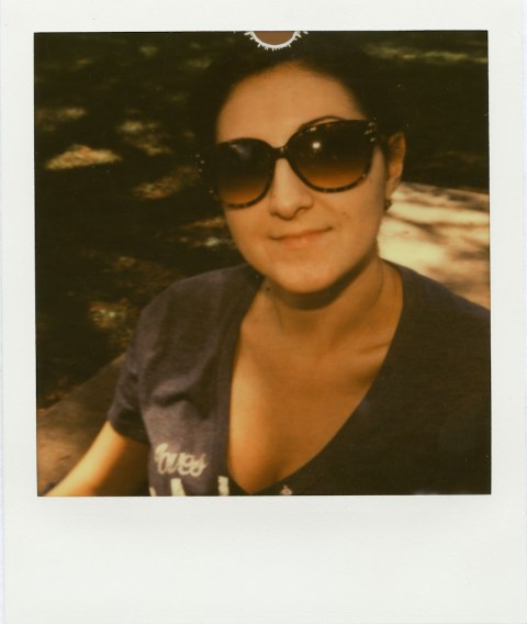 Impossible Project PX-70 V4B w/ MINT flash bar at 1/2 power