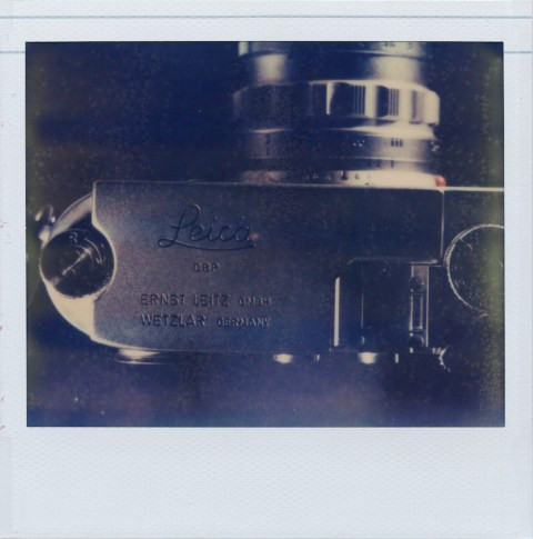 Polaroid Macro 5 SLR - Impossible Project PZ-680 Old Generation