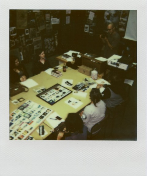 Teaching Brookhaven students about Impossible Project film