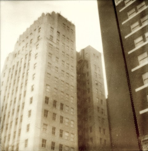 Photo: Erin Curry - Polaroid SX-70 Sonar - Impossible Project PX-100 Old Gen