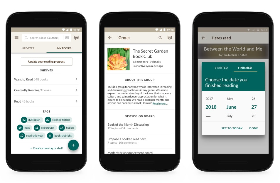 Goodreads launches new Android App