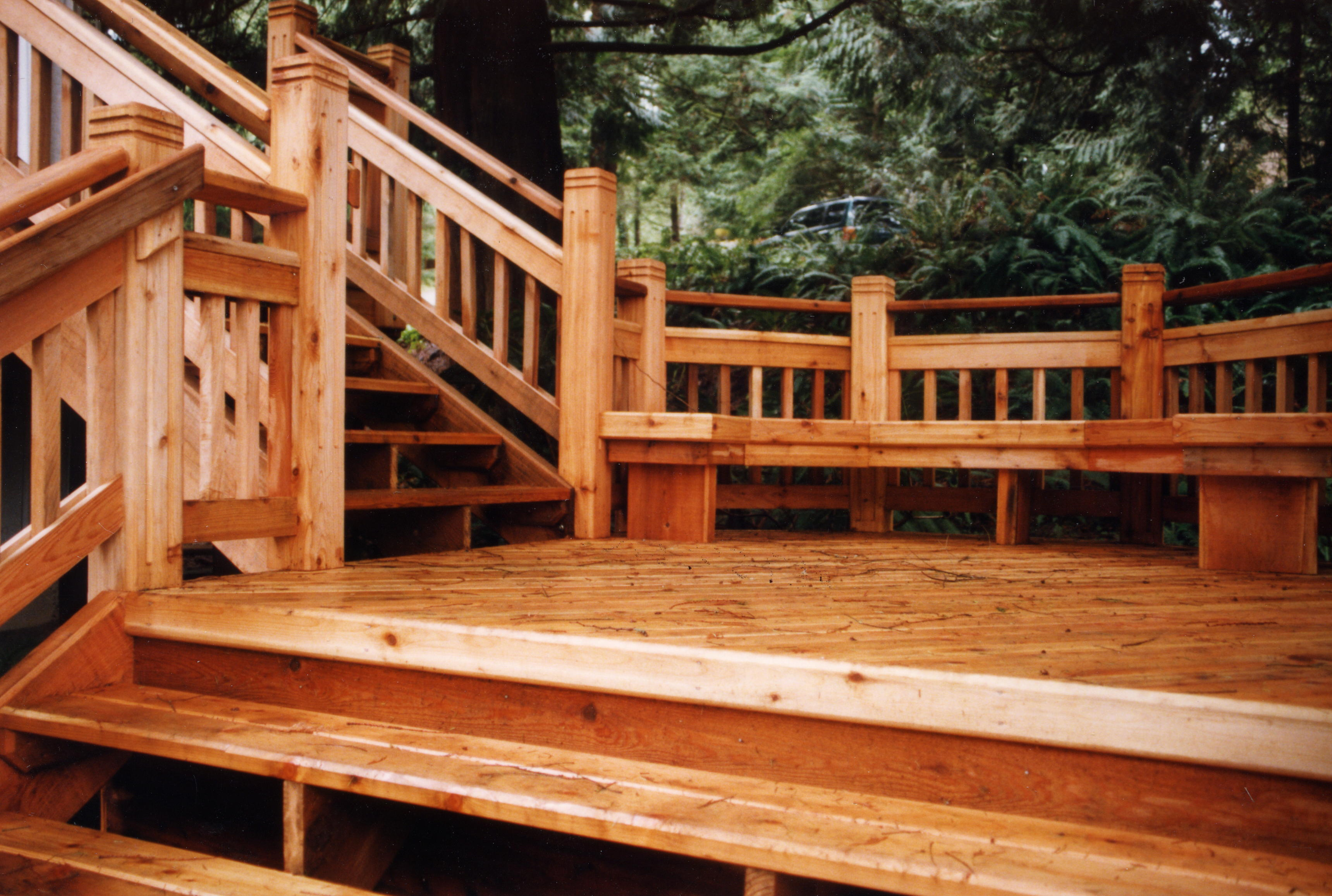 Terrasse Red Cedar Western Red Cedar Decking Goodfellow Inc