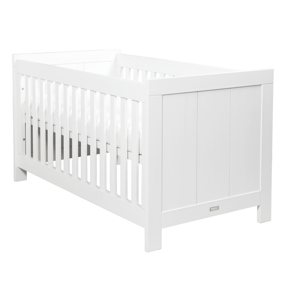 Babybett 70x140 Bopita Basic Wood Babybett 70 X 140 White Wash